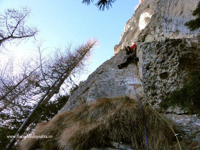 alpinism in romania, bucegi costila