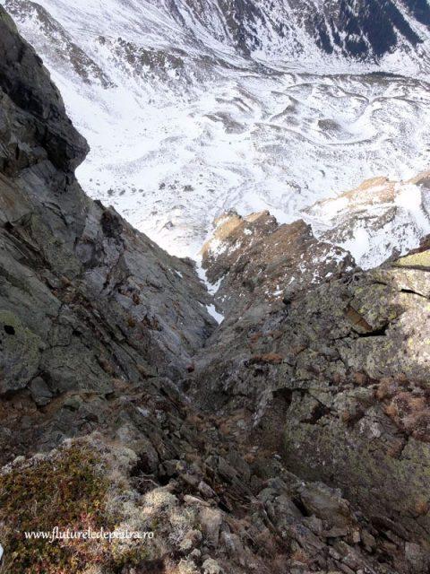 alpinism iarna muntii fagaras