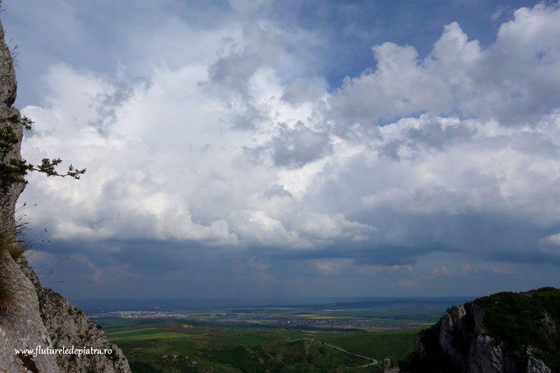 panorama inainte de ploaie