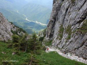 vale de abrupt piatra craiului