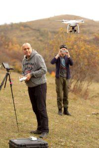 tura in apuseni cu drona