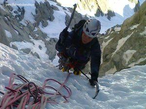 alpinism de iarna franta