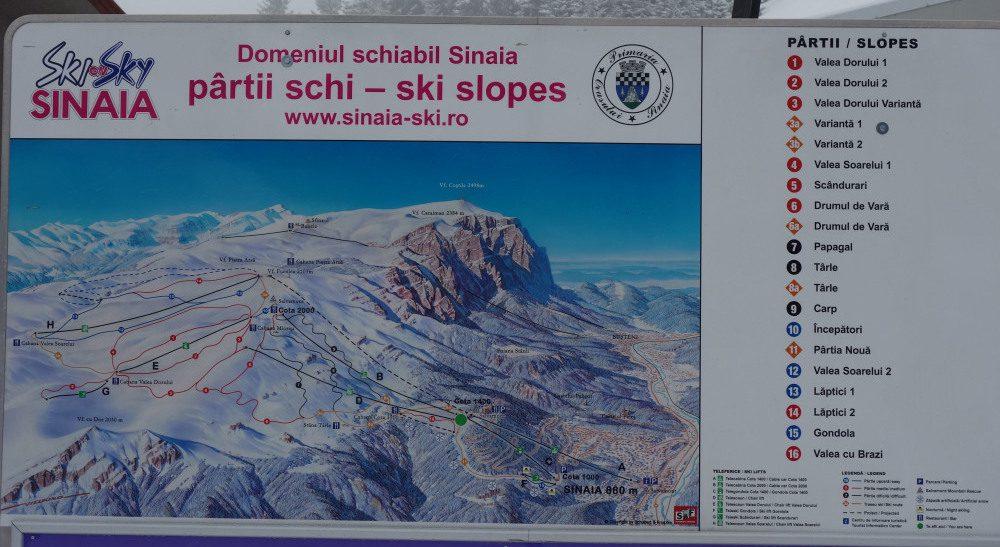 domeniul schiabil Sinaia