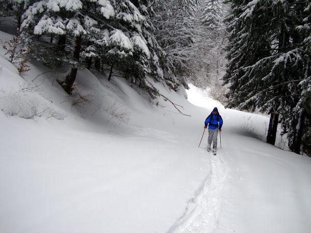 schi de tura muntii bucegi