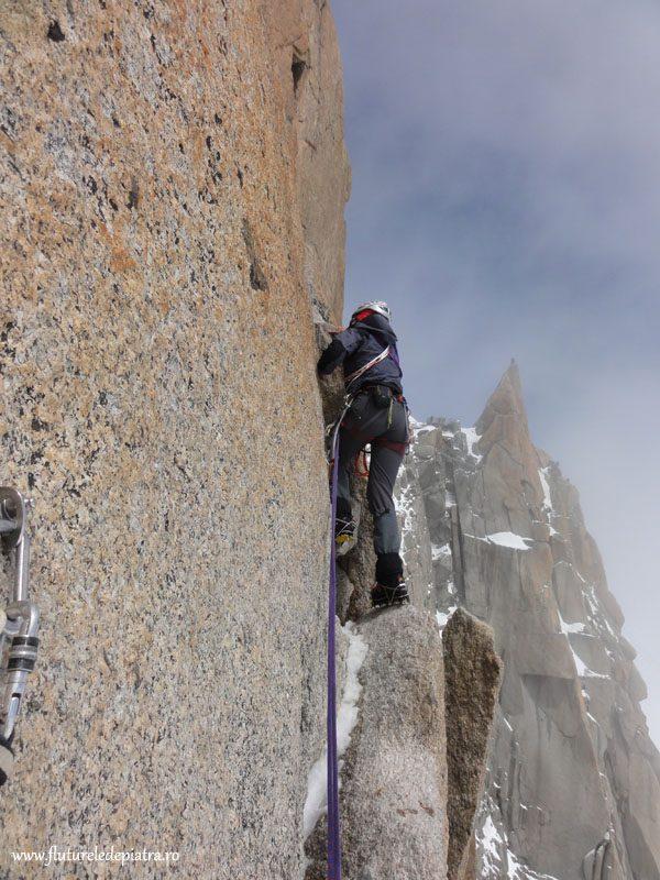 traseu alpinism chamonix, alpi