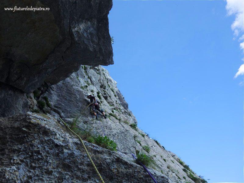 klin route climbing paklenica anika kuk