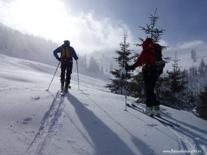 ski tura voineasa, transalpina, romania