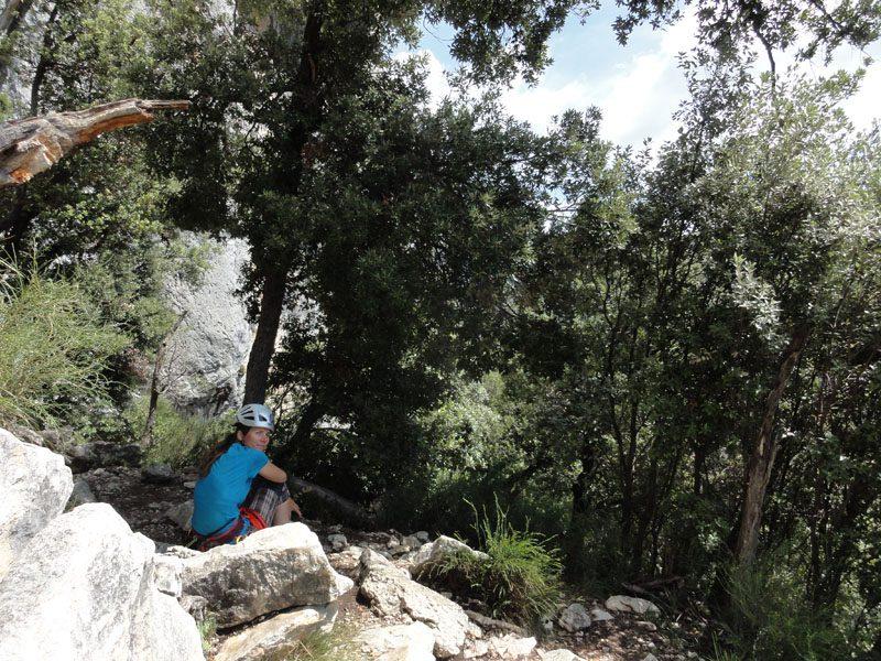 traseul chlorohose escalada verdon