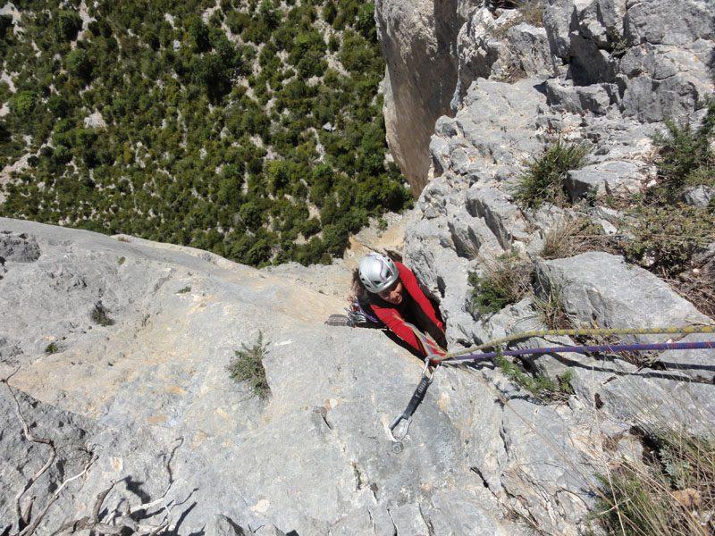 escalada alpinis verdon, franta