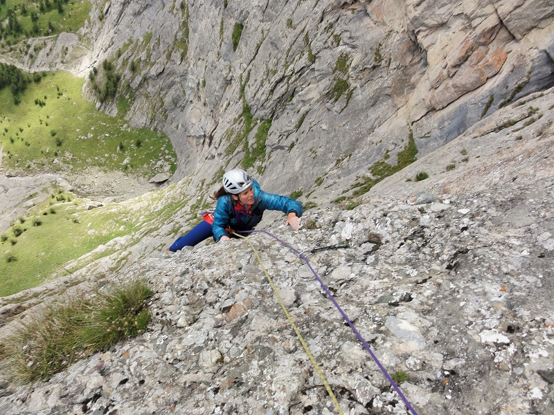 traseul diedrul pupezei_peretele vaii albe_alpinism bucegi (15)