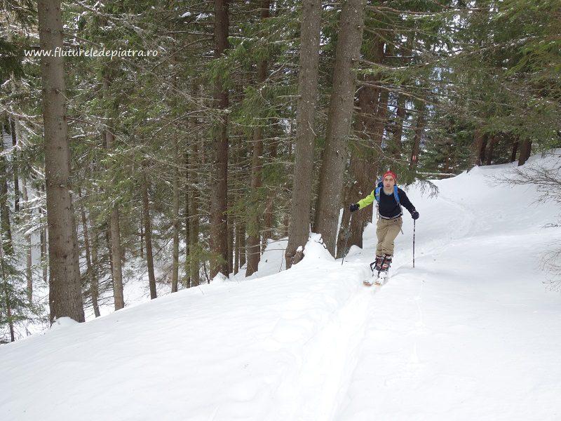 schi de tură cota 2000 sinaia, platoul bucegi, pe langa partie