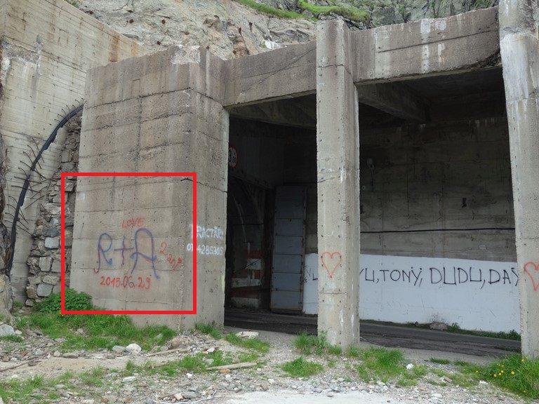graffiti muntii fagaras