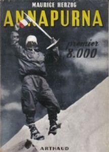 carte alpinism francez, primul optmiar din himalaya