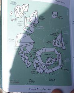 planul turnurilor, cinque torri