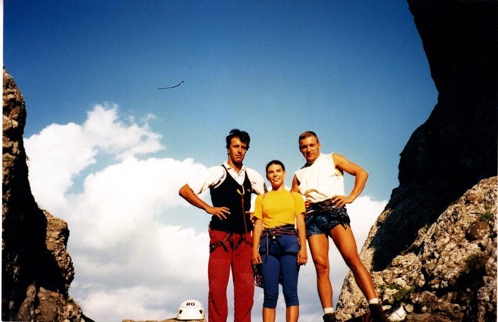 imagini din tinerete cu alpinisti romani, Daniel Burcea
