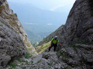 abrupturile Muntilor Bucegi, Valea Costilei si ale sale privelisti