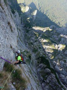 ergee mărilor în munți, alpinism muntii bucegi, poseidon