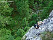 Creasta Estică, alpinism în Buila-Vânturarița