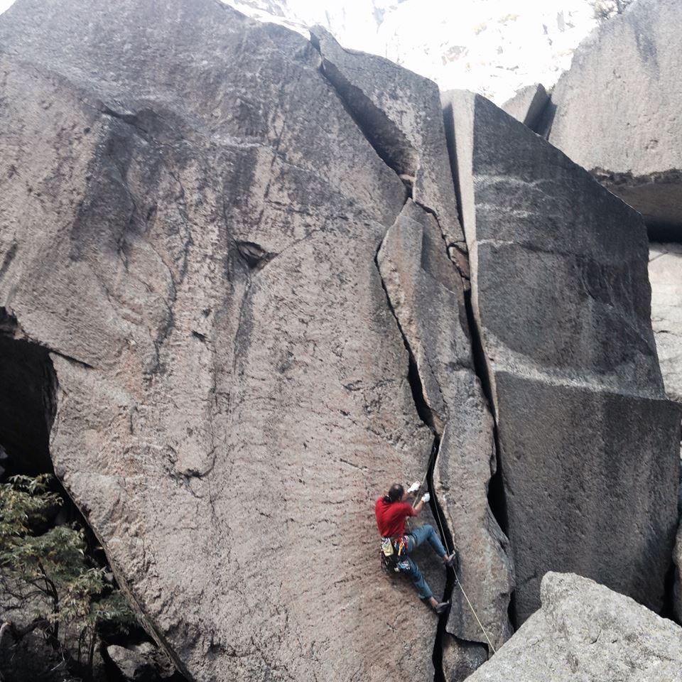 Interviu Mihnea Rădulescu, escaladă granit