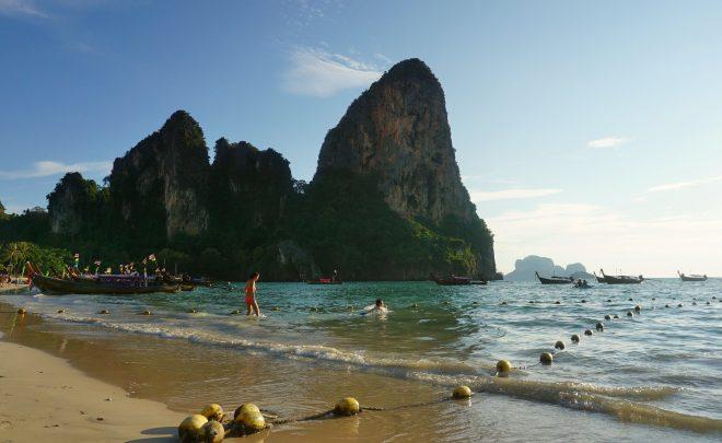 La plajă în sudul Thailandei: Ao Nang și Railay