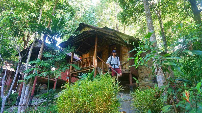 bungalow, cazare rustică pe plaja Ton Sai Thailanda