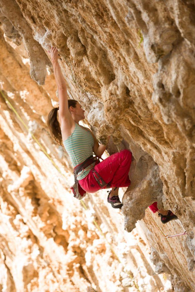 eu la cățărat, foto de RG&B, kalymnos, Grecia