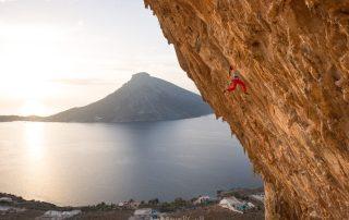 Escaladă pe insula Kalymnos, Grecia