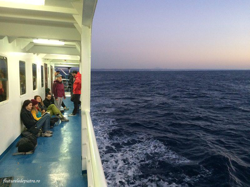 un alt fel de refugiați, cei în căutarea paradisului escaladei din Grecia, kalymnos