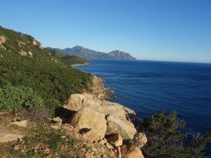 escalada in Sardinia, Italia