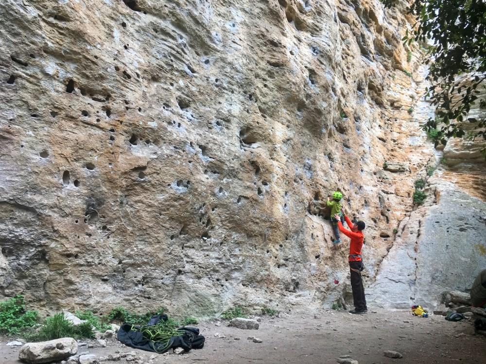 escalada finale ligure, italia