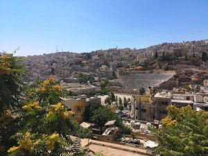 Ruinele romane din Amman