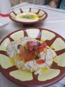 Baba Ganoush și humus, bucătăria iordaniană