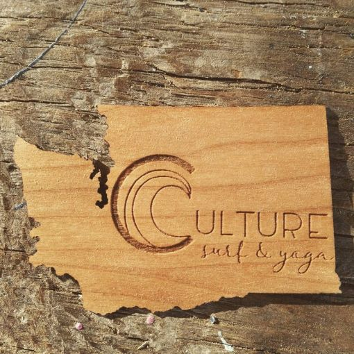 Laser Engraving, Wood sticker, sticker engraving, personalized sticker
