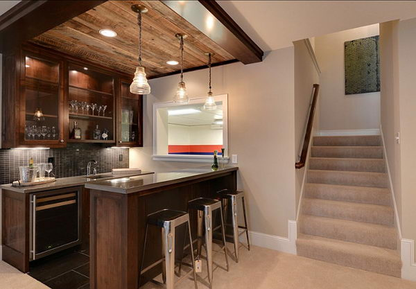 20 Cool Basement Ceiling Ideas