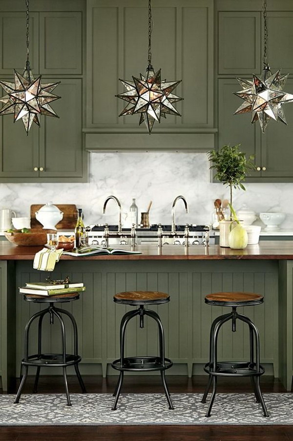 Image Result For Green Kitchen Cabinet Paint