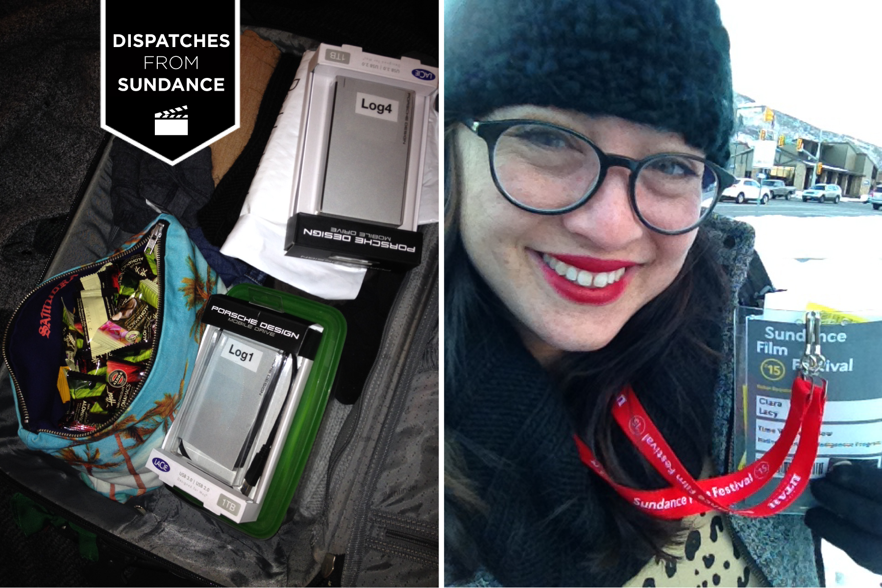 Ciara Lacy Packing for Sundance