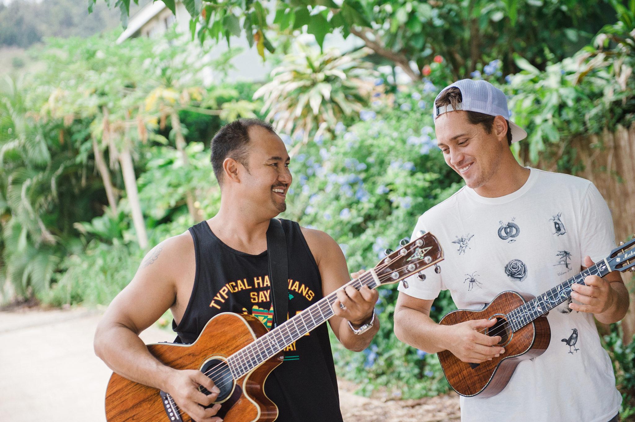 Makua Rothman, musician, FLUX Hawaii