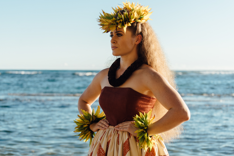 Miss Aloha Hula Taizha Keakealani Hughes-Kaluhiokalani