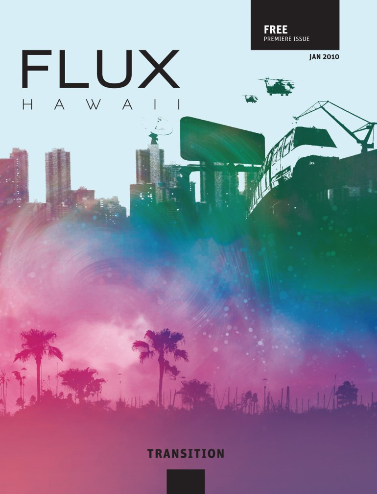 FLUX Cover of Issue 1: Transition