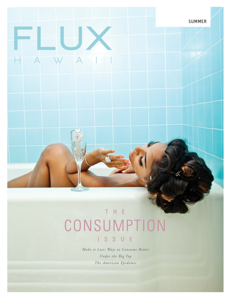 FLUX Cover of Issue 18: Consumption