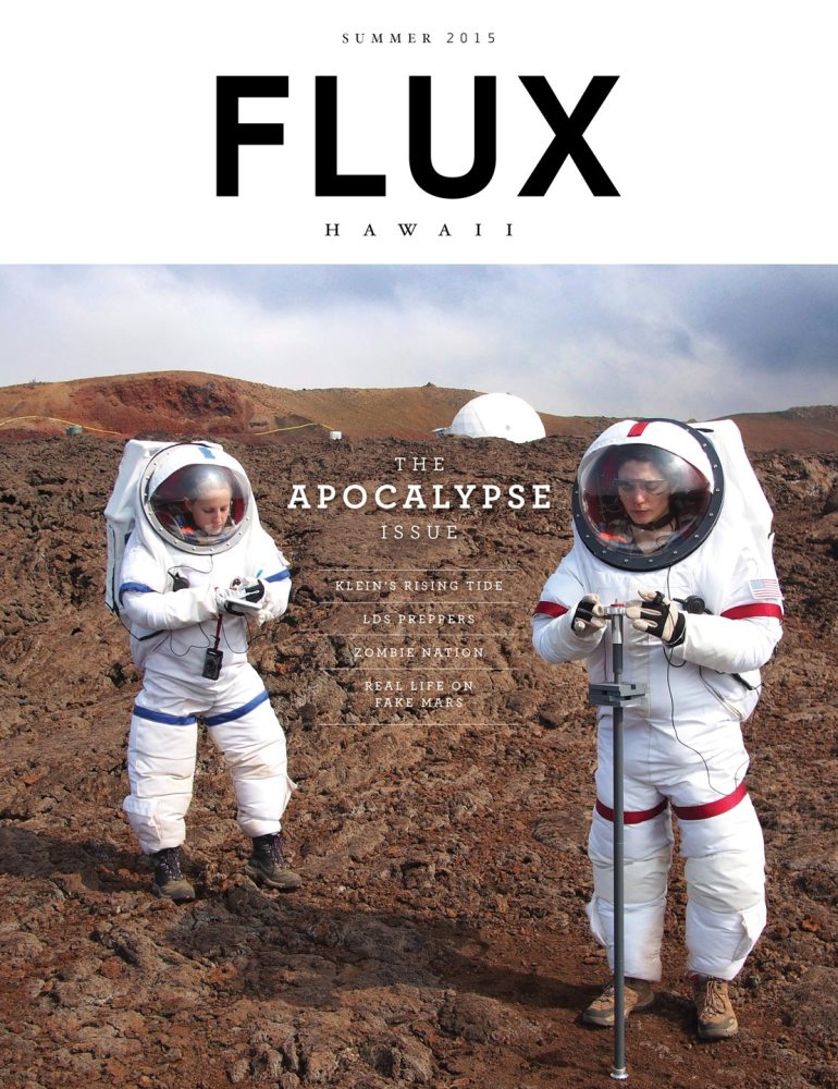 FLUX Cover of Issue 22: Apocalypse