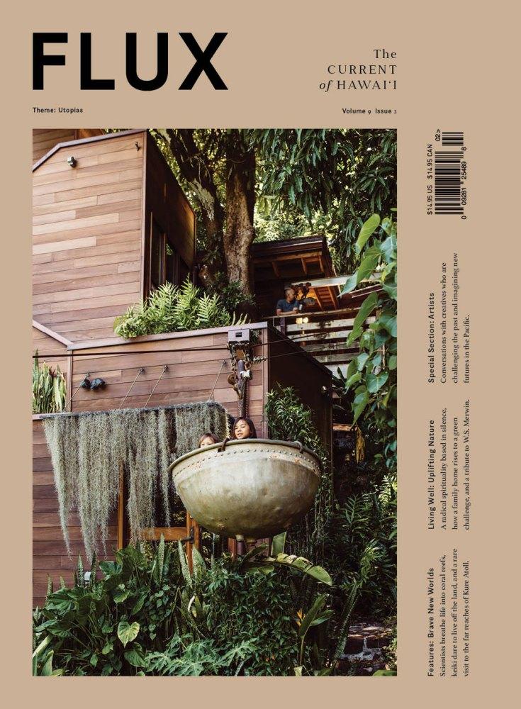 FLUX Cover of Issue 36: Utopias