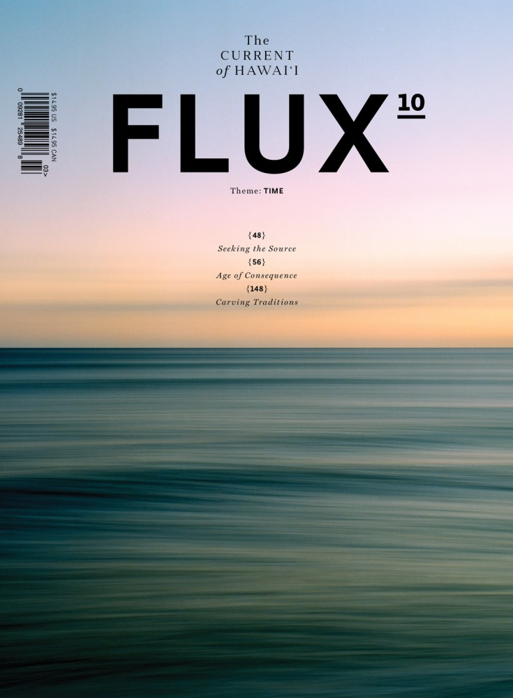 FLUX Cover of Issue 38: Time