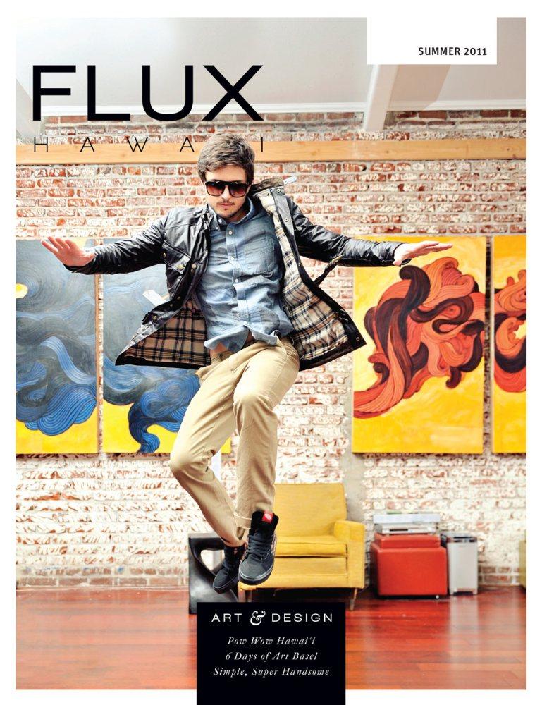 FLUX Cover of Issue 6: Art & Design