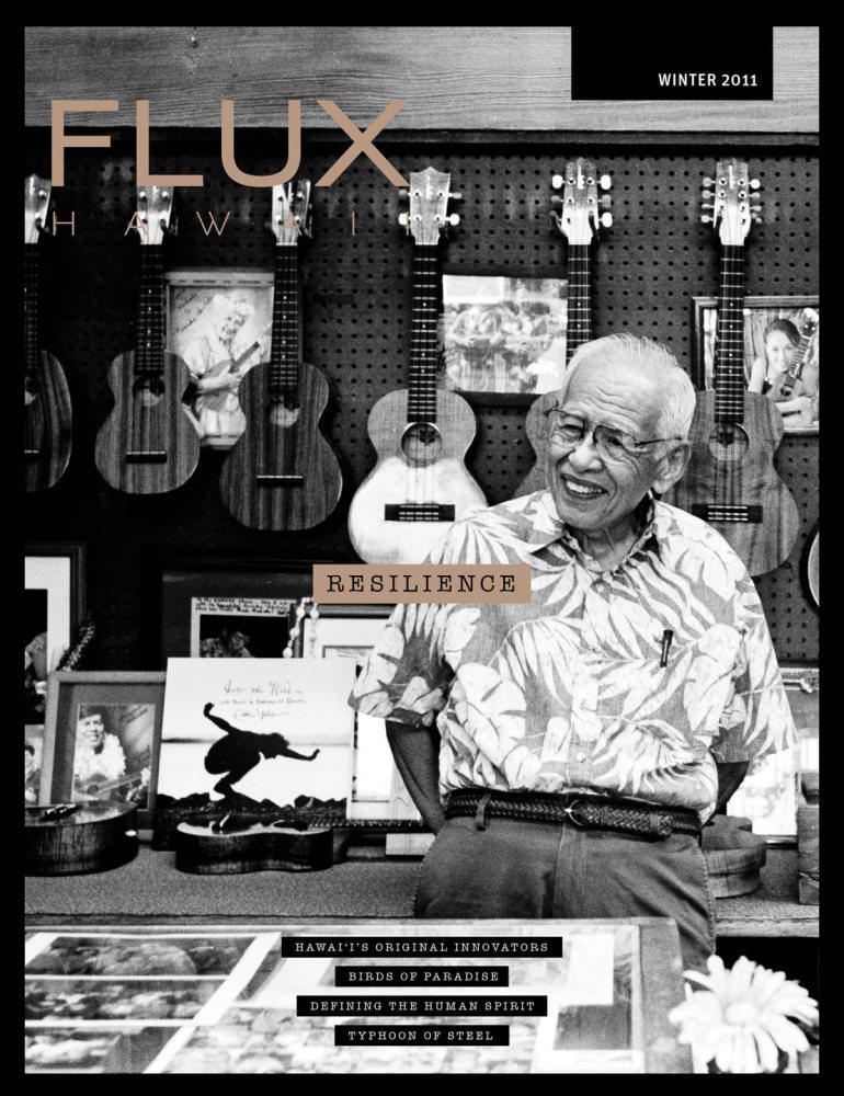 FLUX Cover of Issue 8: Resilience
