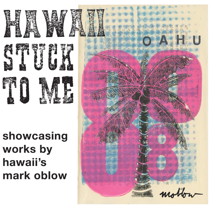 Hawaii-Stuck-To-Me-MOBLOW-Postcard-Front-700