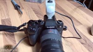 Arduino / HC-SR501 Motion detector controlled shutter release on a Panasonic Lumix G70 (european G7)