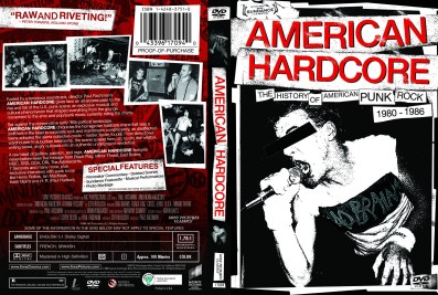 """American Hardcore"", 2006, DVD Amaray (unpublished alternate), with KustomCreative.com"