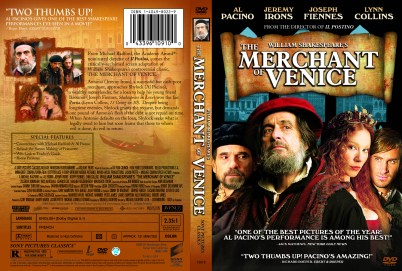 """The Merchant of Venice"", 2006, DVD Amaray, with KustomCreative.com"