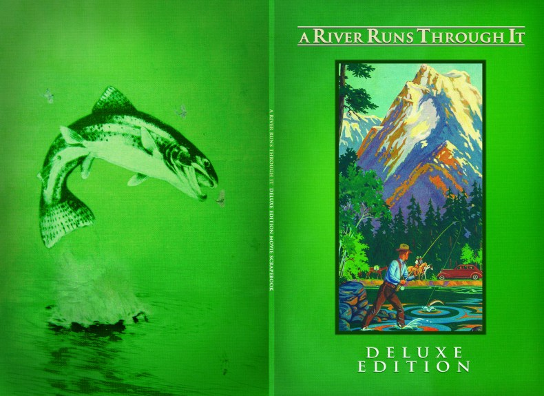 """""""A River Runs Through It"""", 2006, DVD Special Edition booklet (unpublished Alternate cover), with KustomCreative.com"""